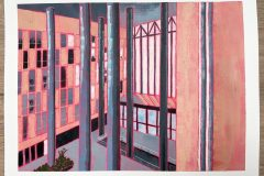 Gina Ketelaars Studio Ginart Acrylverf ErasmusMC